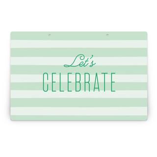 Alford Park No. 2 Personalizable Party Greeting Signs 2