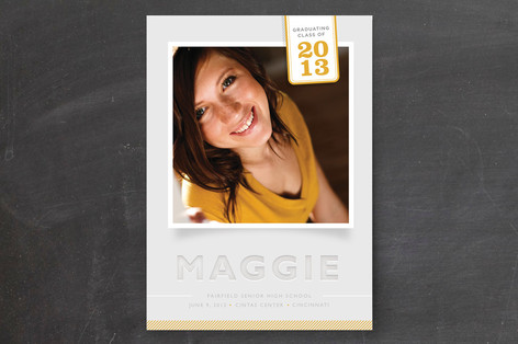 Proud Mary Graduation Announcements