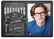 Past and Future Graduation Announcements