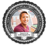 seal of approval Graduation Announcements