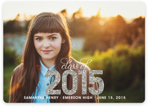 Bold Sparkle Graduation Announcements