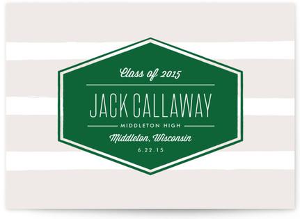 Badge Graduation Announcements