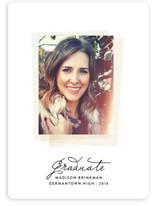 Instant Film Graduation Announcements