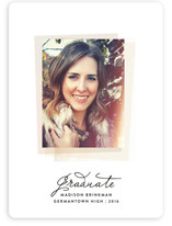 Instant Film Graduation Announcements