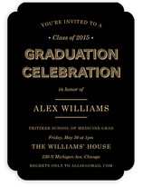 Wood Grain Graduation Announcements
