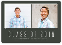 Framing Graduation Announcements