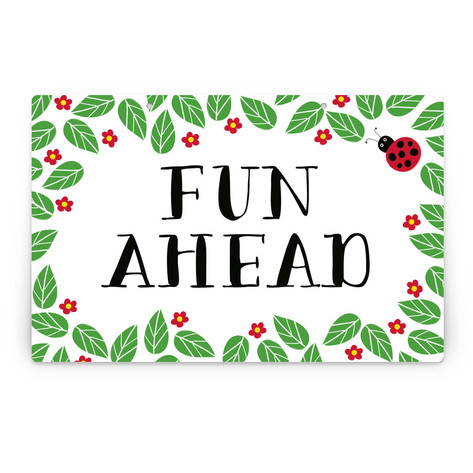 Little Ladybug Personalizable Party Greeting Signs