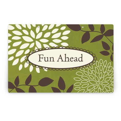 Everything Green Personalizable Party Greeting Signs