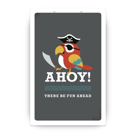 Yo Ho Ho! Personalizable Party Greeting Signs