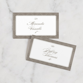 Formalities Wedding Place Cards