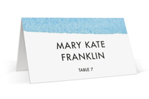 Painted Sea Wedding Place Cards