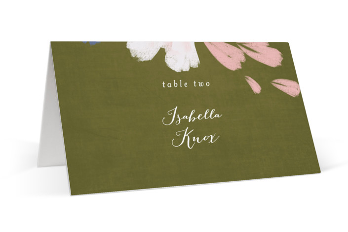 romance in spring Place Cards