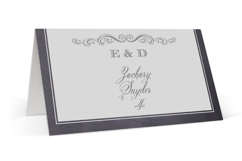A Chalkboard Marriage Place Cards
