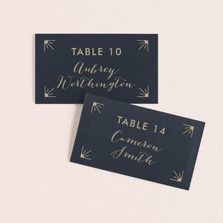 Elegantly Modern Wedding Place Cards
