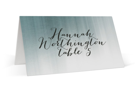 Modern Beach Place Cards