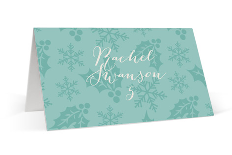 A Season for Stripes Place Cards