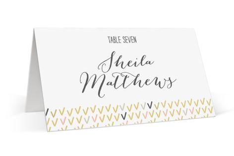 Arrowhead Pastels Place Cards