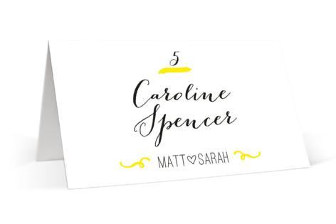 Bistro Place Cards