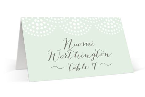 Pearl + Dot Place Cards