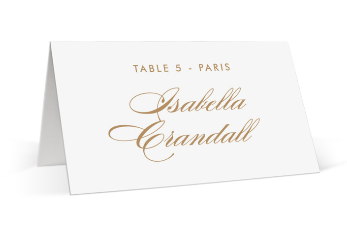 Fashion District Place Cards