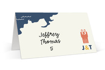 Two Grooms Destination Wedding Place Cards