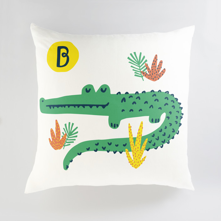 Basking In The Sun Personalized Floor Pillows