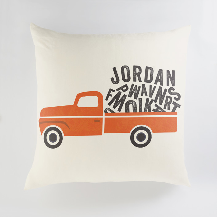Heavy Load Personalized Floor Pillows
