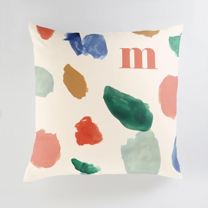 A Painter's Reverie Personalized Floor Pillows