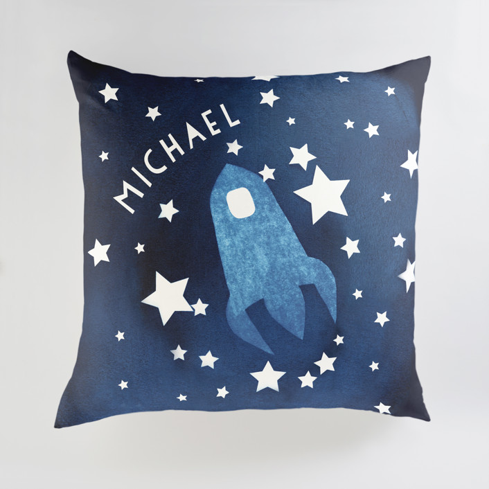 To the stars and beyond Personalized Floor Pillows
