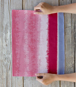 Soft Watercolor Stripe Placemats