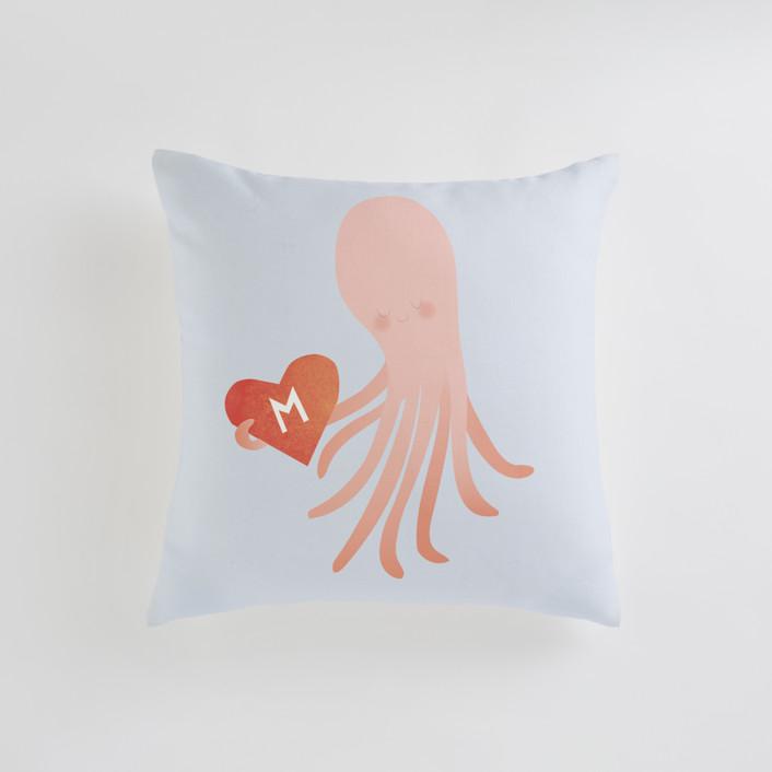Little Octopus Personalizable Pillows