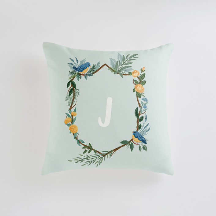 Nature's Crest Personalizable Pillows