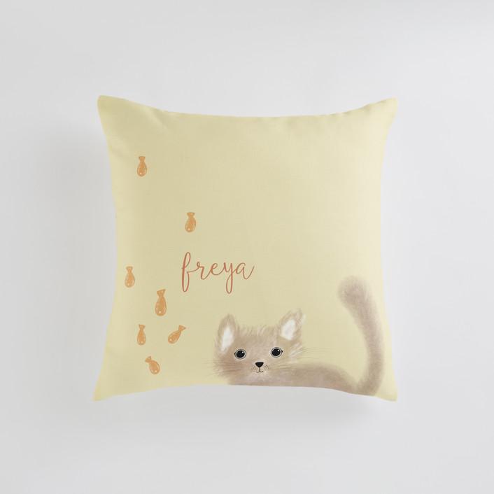 It's Raining Personalizable Pillows