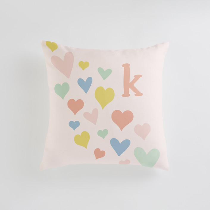 wave of love Personalizable Pillows