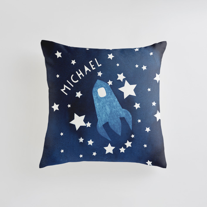 To the stars and beyond Personalizable Pillows