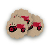 A Tractor Pull by Two Ninjas
