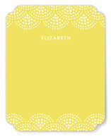 Beaded Swag Personalized Stationery