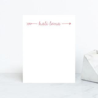 Audrina Personalized Stationery