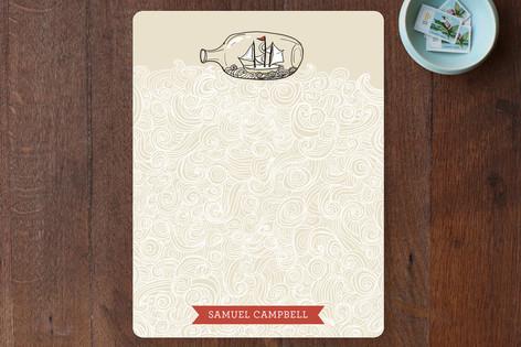 Sail Away Personalized Stationery