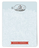 Sail Away Personalized Stationery