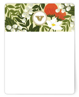 Rainforest Monogram Personalized Stationery