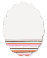Vogue Stripes Personalized Stationery