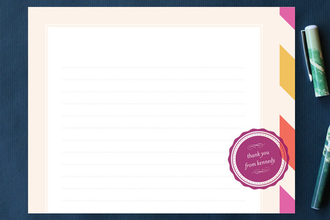 Penpal Personalized Stationery