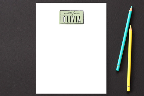 Simply Offset Personalized Stationery