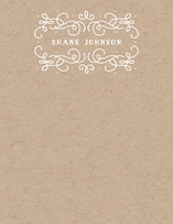 Antoinette Personalized Stationery