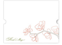 Orchid Personalized Stationery
