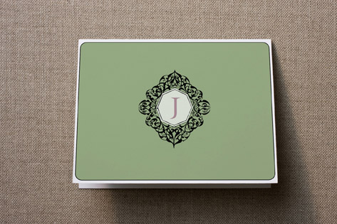 Monogram Personalized Stationery