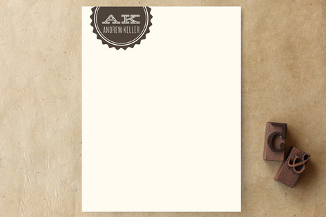 gears Personalized Stationery