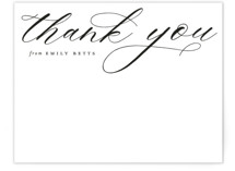 Elegant Thank You by Emily Betts