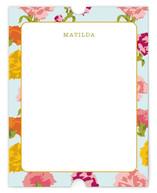 Matilda Flowers Personalized Stationery